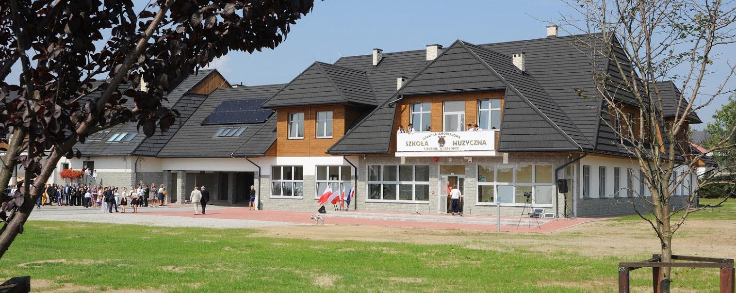Nowa siedziba Orawskiej Samorządowej Szkoły Muzycznej I stopnia w Jabłonce