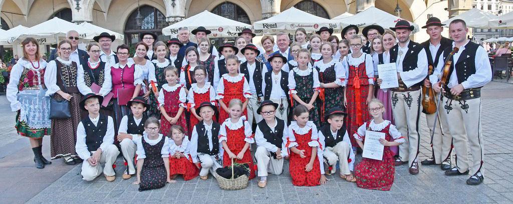 Święto Gminy Jabłonka podczas obchodów 43 Międzynarodowych Targów Sztuki Ludowej Krakowie