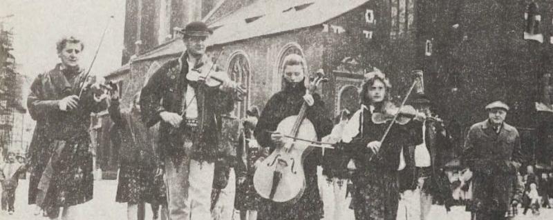 Spisko-orawskie świętowanie w Krakowie w 1990 r.